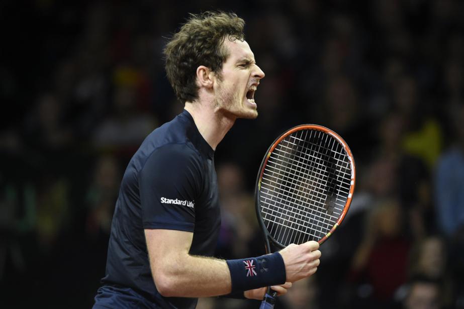Le Britannique Andy Murray a remporté son match... (Photo John Thys, AFP)