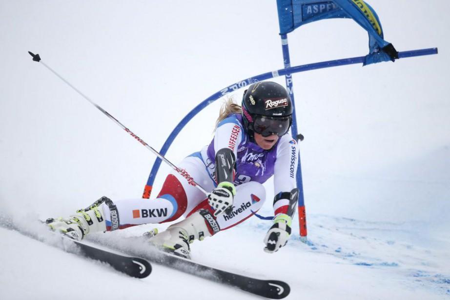 Lara Gut... (PHOTO Erich Schlegel, USA TODAY Sports)