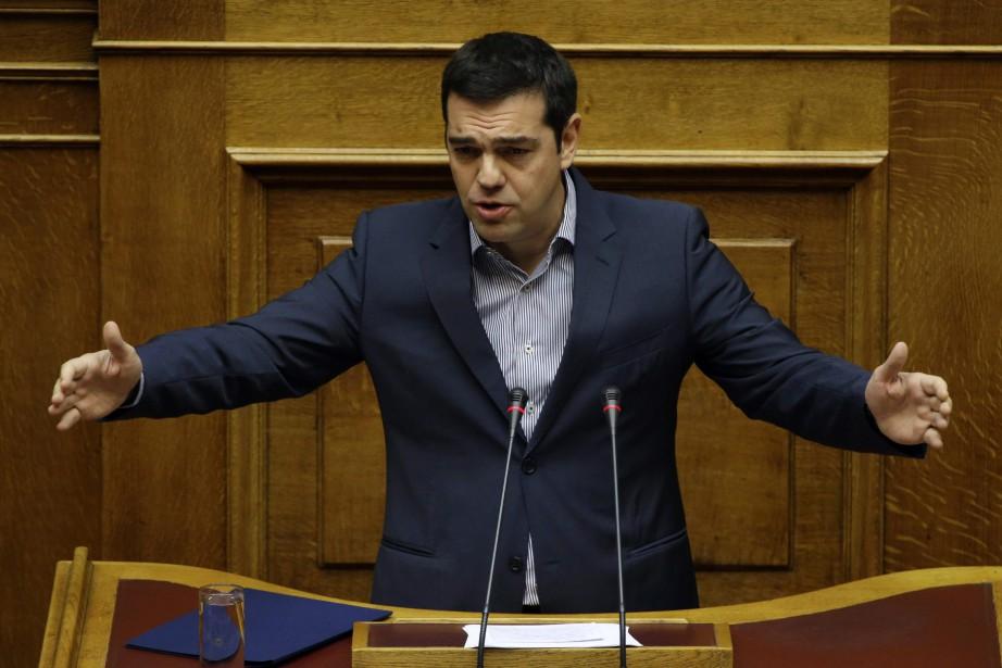 Le premier ministre grec, Alexis Tsipras... (PHOTO ARCHIVES AP)