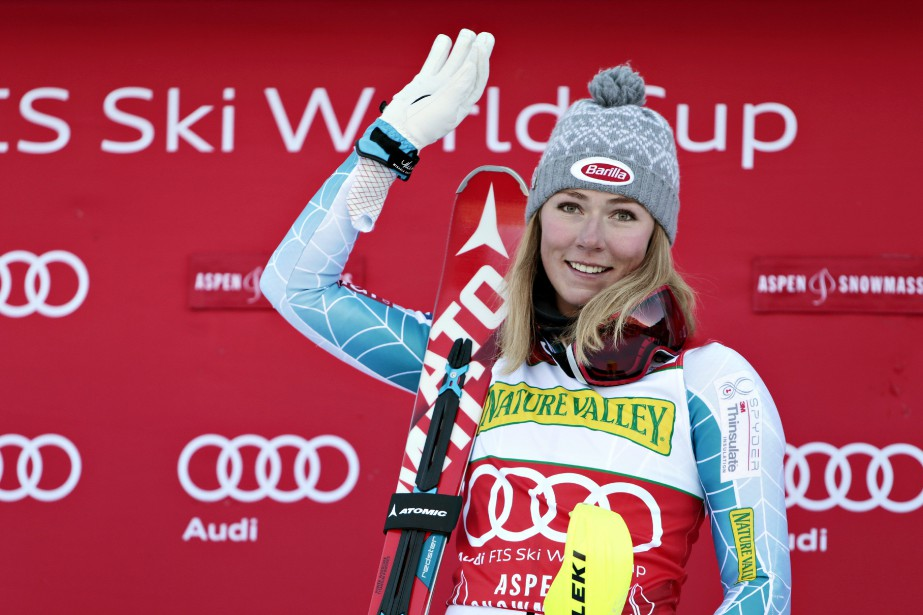 Mikaela Shiffrin... (Photo Nathan Bilow, AP)