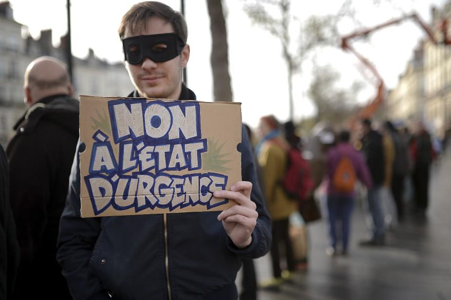 À Nantes (France) (AFP, Jean-Sébastien Évrard)