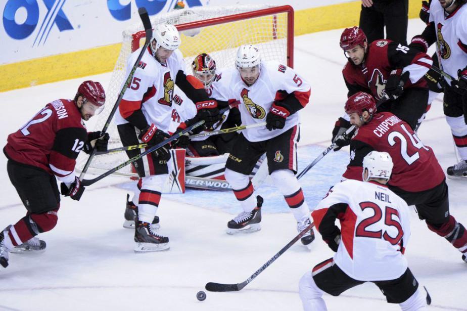 Les Coyotes ont mis fin à une série... (Photo Matt Kartozian, USA Today)