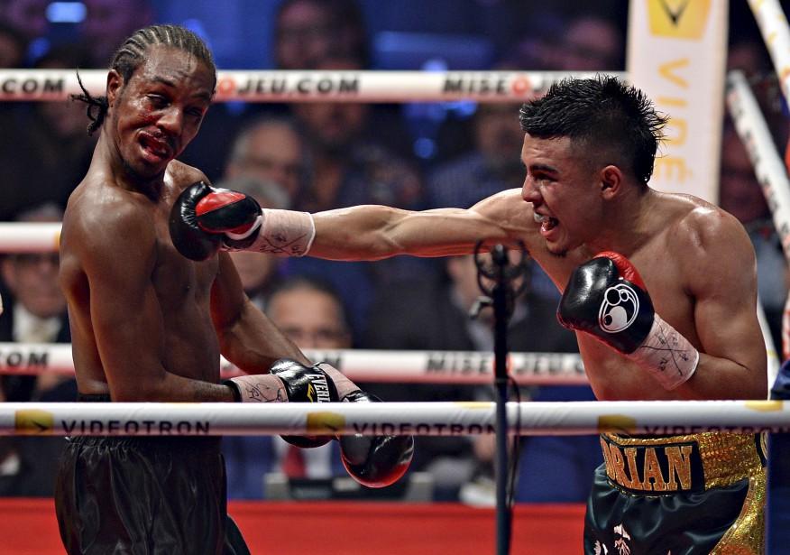 Le combat entre Adrian Granados (gagnant) et Amir Imam (Le Soleil, Patrice Laroche)