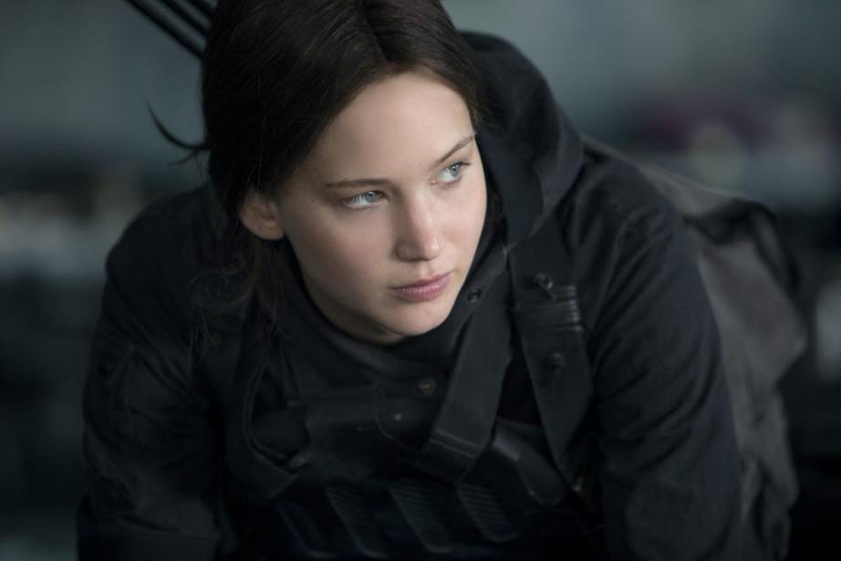 Jennifer Lawrence dansThe Hunger Games: Mockingjay - Part... (PHOTO FOURNIE PAR LES FILMS SÉVILLE)