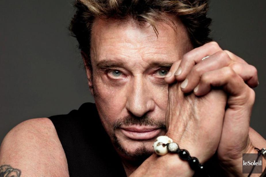 Le légendaire rockeur français Johnny Hallyday a... (PHOTO ARCHIVES LE SOLEIL)