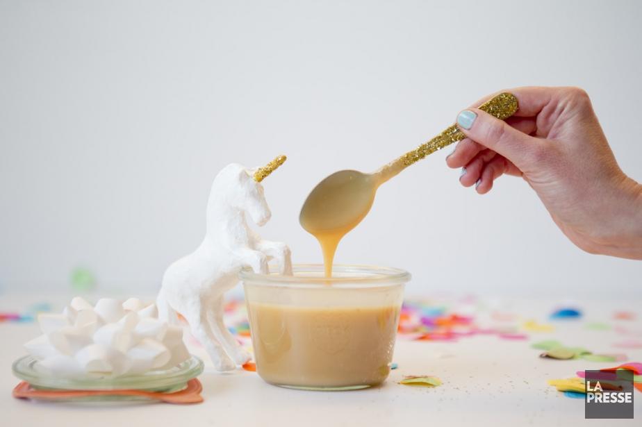 Le caramel se conserve jusqu'à 1 mois au... (Archives La Presse)