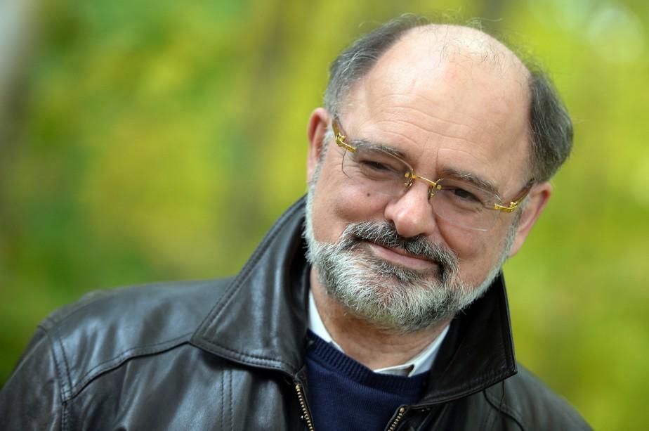 Avec Machine God, l'auteur Jean-Jacques Pelletier signe un... (PHOTO ERICK LABBÉ, ARCHIVES LE SOLEIL)