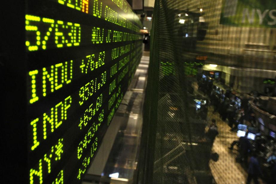 La Bourse de Toronto a clôturé en hausse hier, au terme d'une... (Bloomberg)