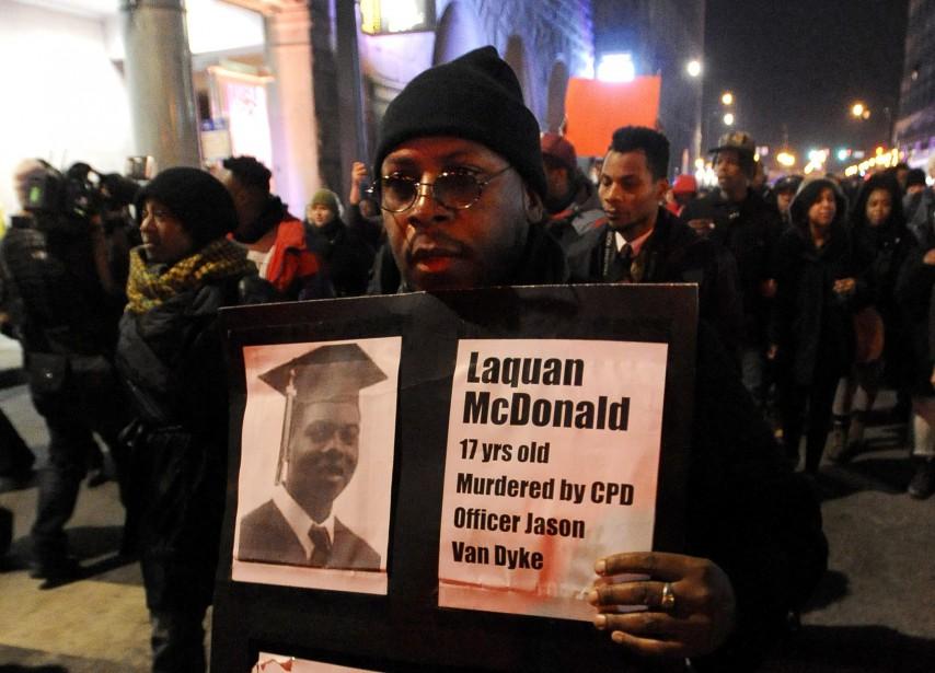 La mort deLaquan McDonald, tué par un policier... (PHOTOPAUL BEATY, ASSOCIATED PRESS)