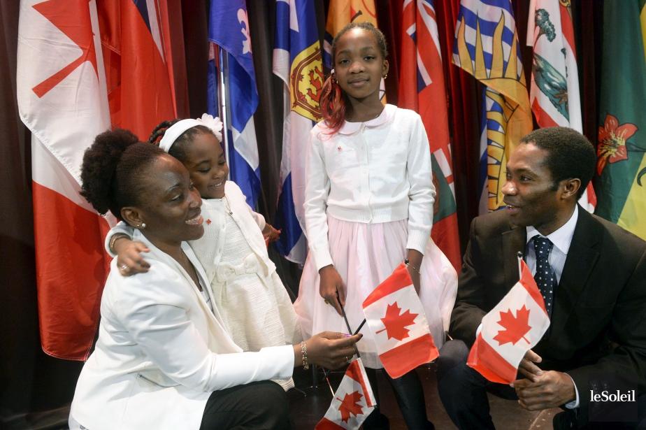 Gérard Agbanzo, originaire du Togo, est débarqué à Québec avec sa famille, il y a six ans. (Le Soleil, Jean-Marie Villeneuve)