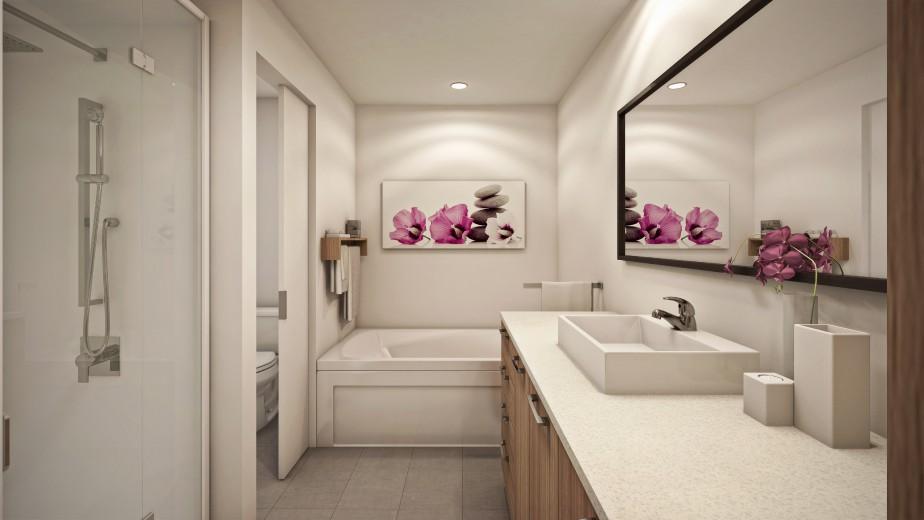 Une salle de bain (Graph Synergie)