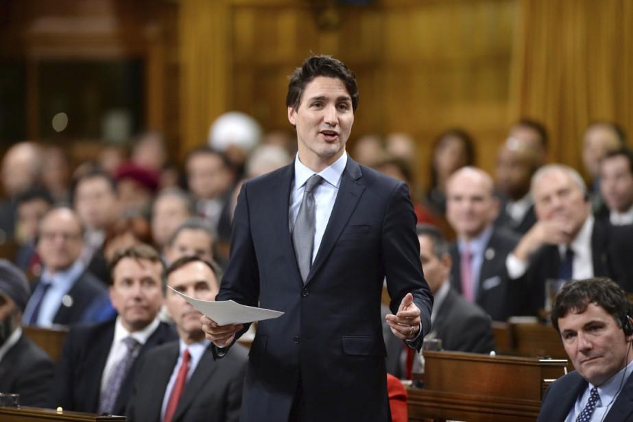 Le gouvernement de Justin Trudeau présentera aujourd'hui ses... (PHOTO SEAN KILPATRICK, LA PRESSE CANADIENNE)