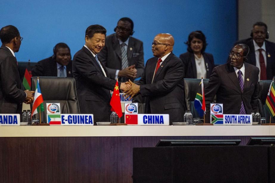 La Chine compte plus d'un million de travailleurs... (PHOTO MUJAHID SAFODIEN, AFP)