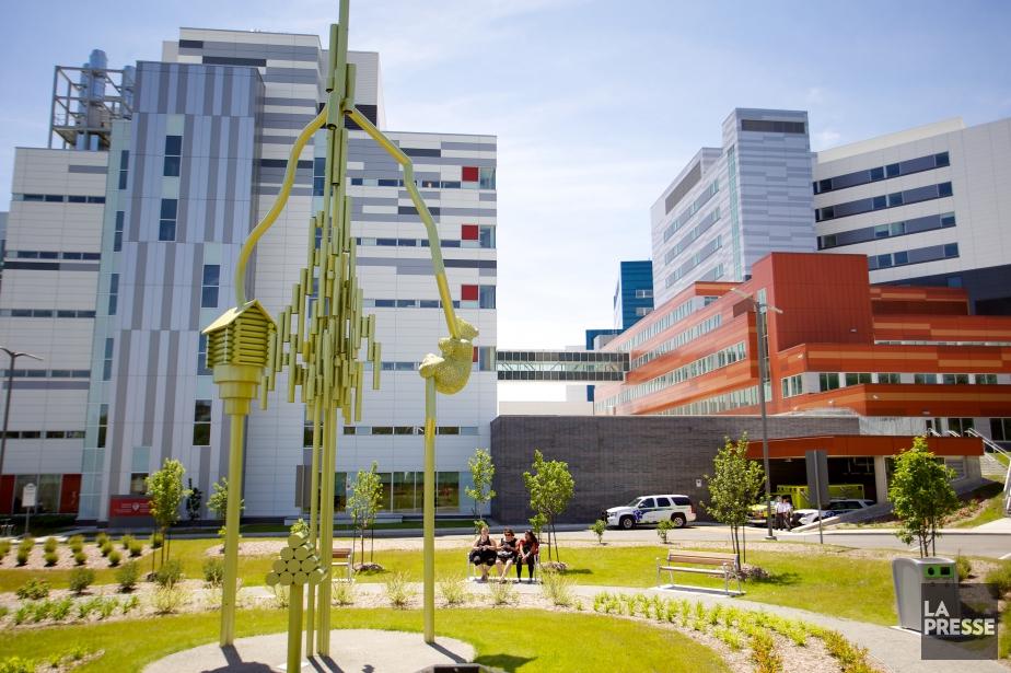 Depuis son ouverture, le nouveau Centre universitaire de... (PHOTO SARAH MONGEAU-BIRKETT, archives LA PRESSE)