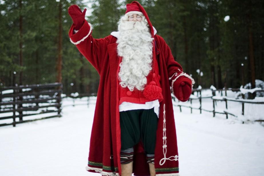 Non, ça ne sent pas le sapin pour le père Noël: le plus... (PHOTO ARCHIVES AFP)
