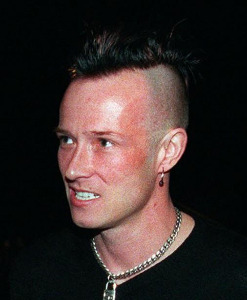 Scott Weiland en janvier 1999, alors qu'il a été reconnu coupable de possession de drogue. (Photothèque La Presse)