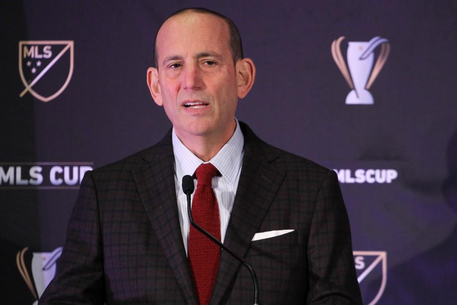 Le commissaire de la MLS, Don Garber... (PHOTO JASON MOWRY, USA TODAY)