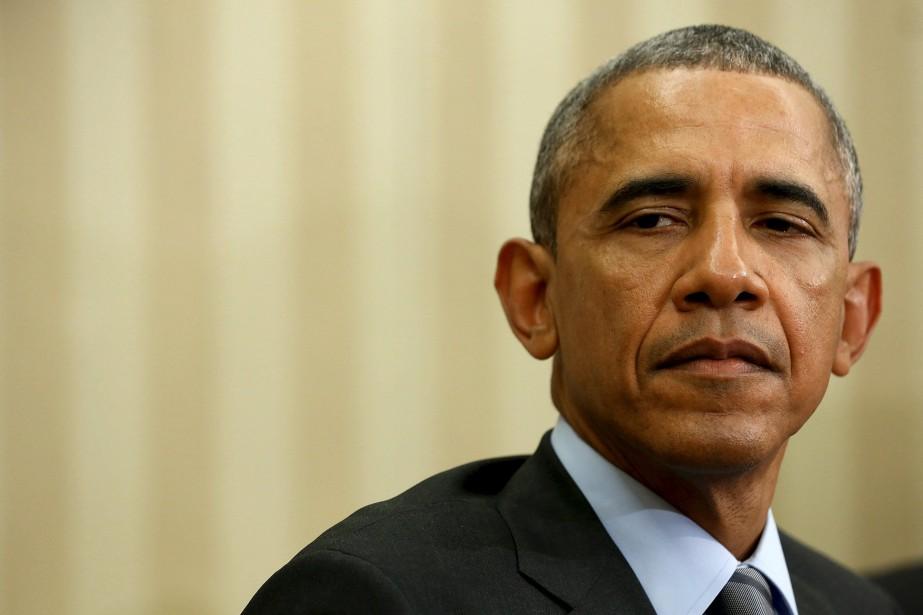 Le président américain, Barack Obama.... (Photo Jonathan Ernst, archives Reuters)