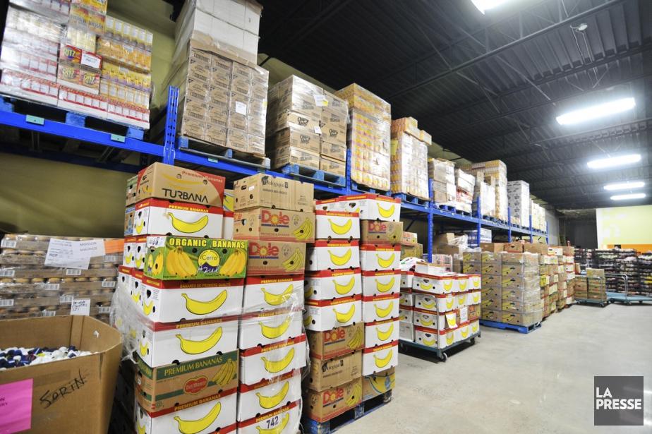 Les banques alimentaires, qui dépendent grandement des dons,... (Photo d'archives)