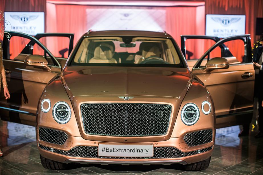Bentley qualifie le Bentayga de premier VUS de... (Photo Olivier PontBriand, La Presse)