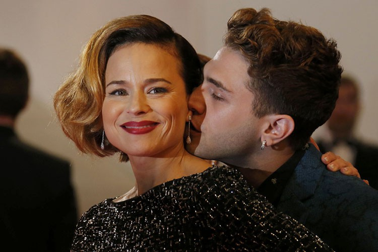 Suzanne Clément et Xavier Dolan à Cannes en... (ARCHIVES REUTERS)