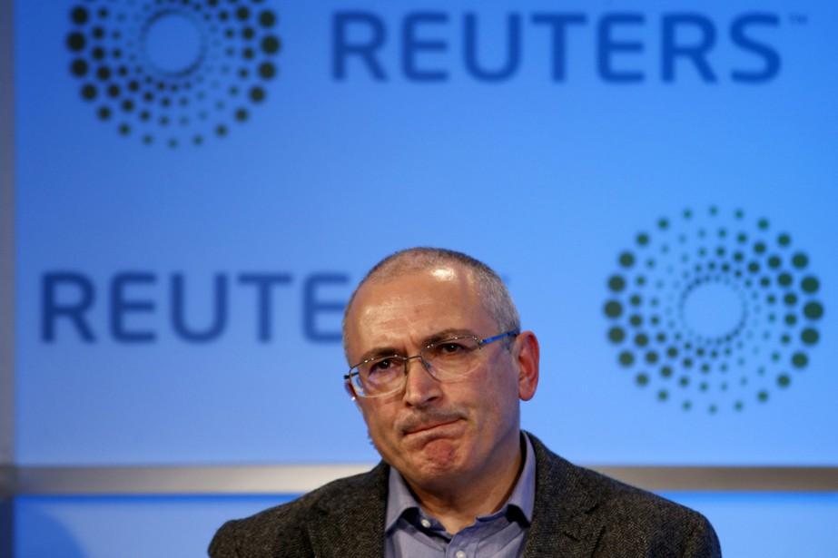 Mikhaïl Khodorkovski, qui a passé près de dix... (PHOTO PETER NICHOLLS, ARCHIVES REUTERS)