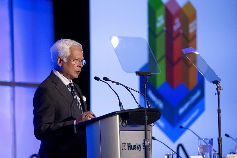 Le PDG de Husky Energy, Asim Ghosh... (PHOTO ARCHIVES LA PRESSE CANADIENNE)