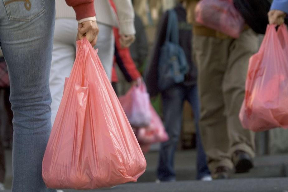 Les sacs minces (moins de 50 microns) seront... (PHOTO ARCHIVES AGENCE FRANCE-PRESSE)
