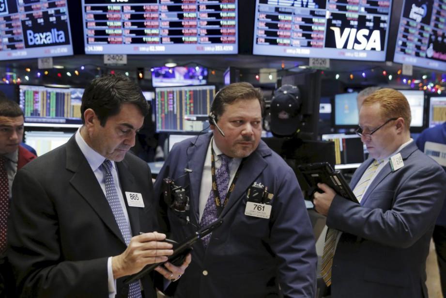 Désormais, Wall Street hésite, «comme le malaise persistant... (Photo Lucas Jackson, Reuters)
