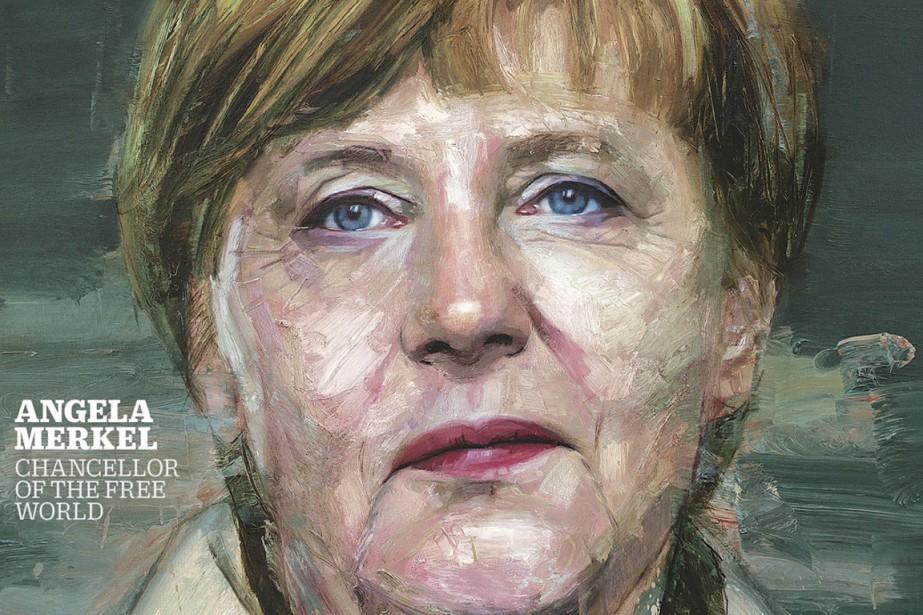 Angela Merkel est la personnalité de l'année2015 du... (IMAGE TIME MAGAZINE/AP)