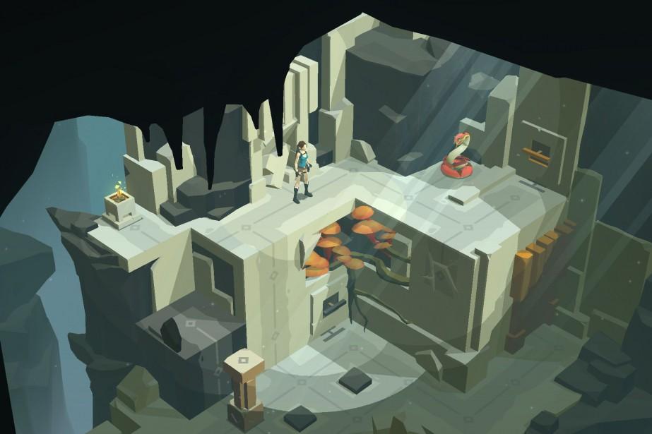 Lara Croft GOa été choisi devant Rayman Adventures,...