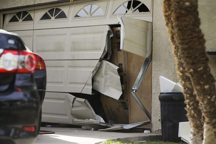 Le FBI a mené un raid mercredi au... (PHOTO AFP)