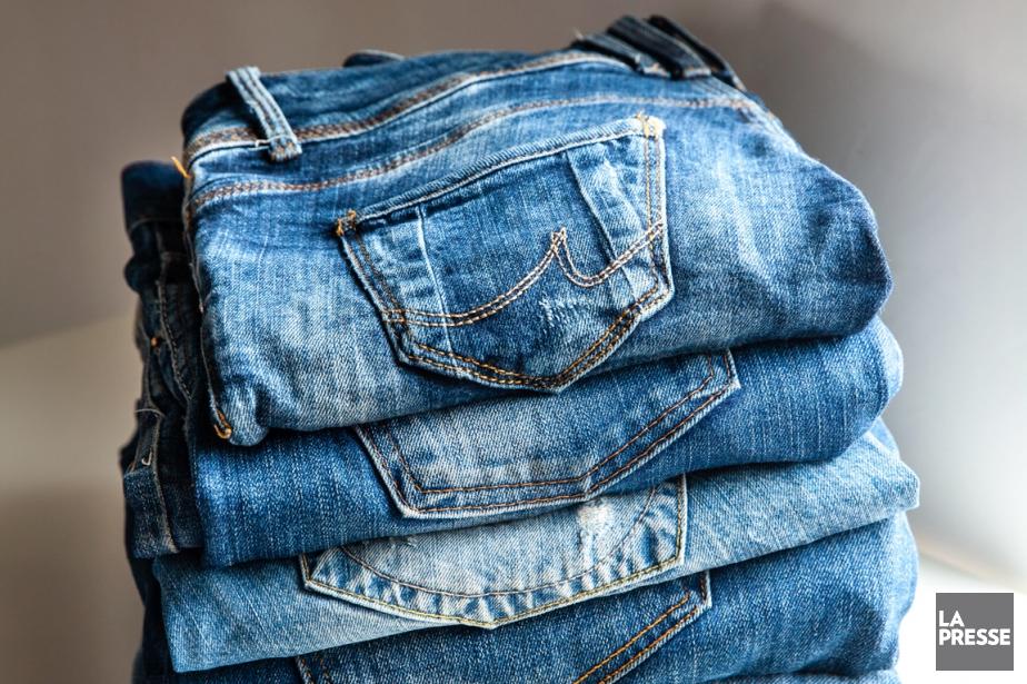 Un jean qui permet de trouver son chemin ou de trier ses... (Photo d'archives)