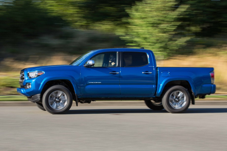 Toyota Tacoma (PHOTO FOURNIE PAR TOYOTA)