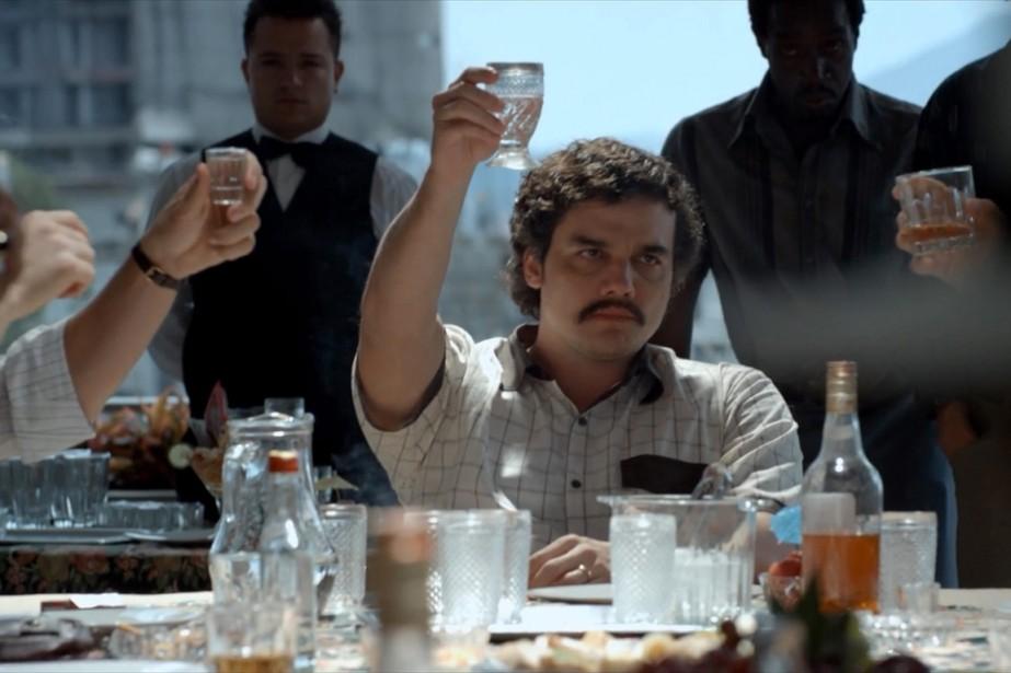 La série Narcos,sur le trafiquant de drogue Pablo... (Photo Netflix)