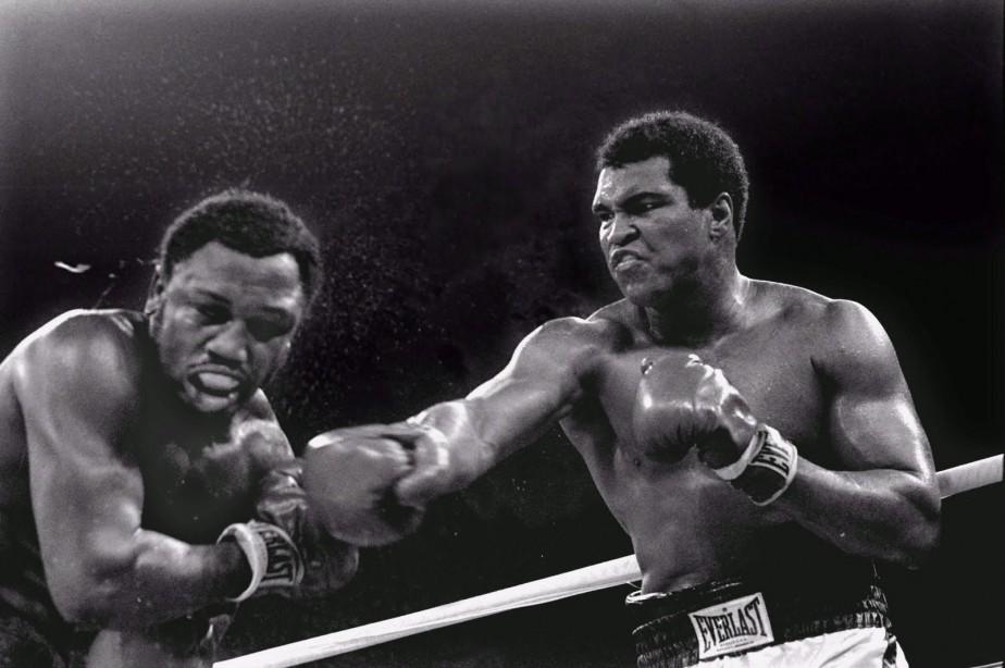 Muhammad Ali contre Joe Frazier, en 1975.... (PHOTO GOOGLE IMAGES)