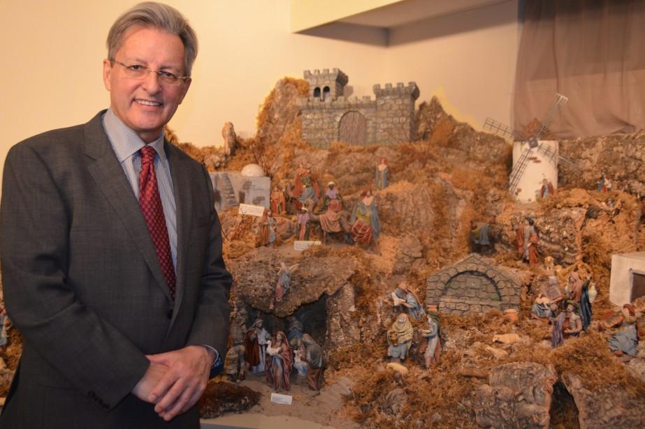 Le maire de Saguenay, Jean Tremblay, assume la présidence d'honneur de l'événement. (Photo Le Progrès-Dimanche, Patricia Rainville)