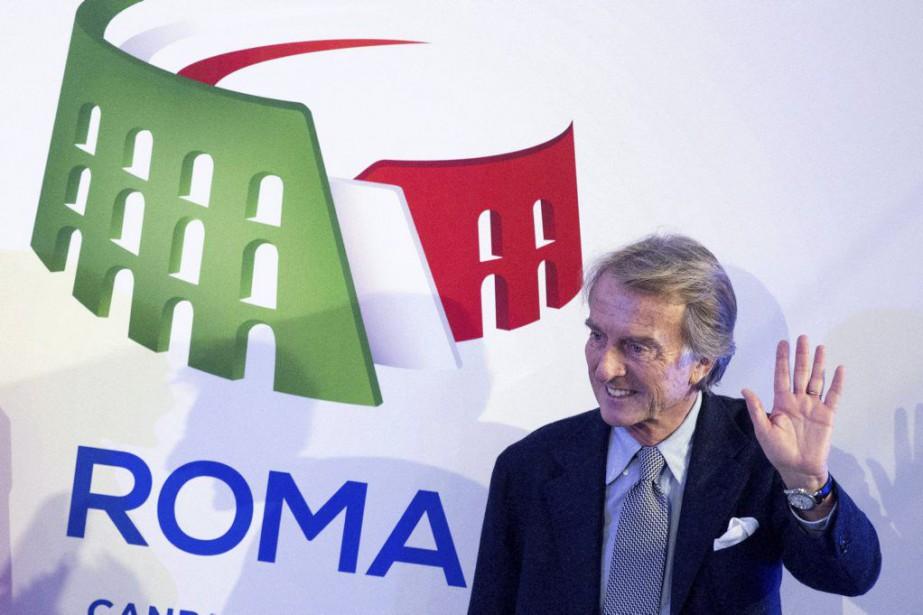 Luca di Montezemolo, président du comité de candidature,... (Photo Massimo Percossi, Ansa / AP)