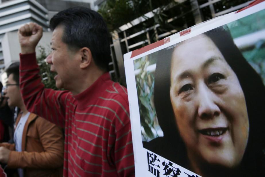 La Chine demeure le pays qui emprisonne le... (PHOTO KIN CHEUNG, ASSOCIATED PRESS)