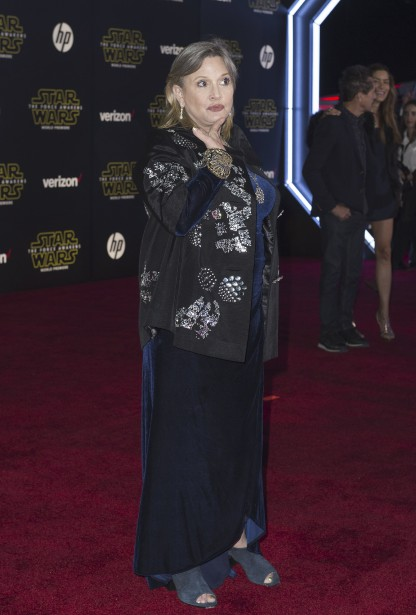 Carrie Fisher (Princesse Leia) (AFP, Valérie Macon)