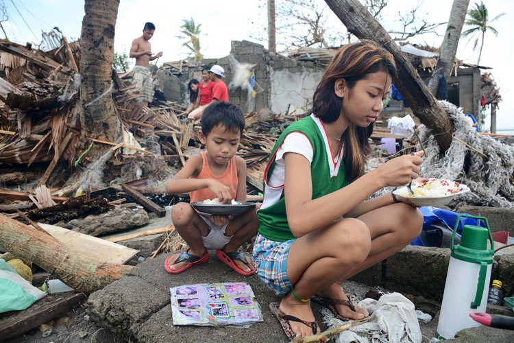 Les Philippines subissent régulièrement des tempêtes meurtrières, avec... (PHOTO REUTERS)