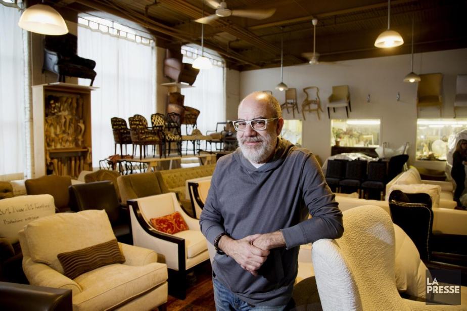 Philip Shapiro, propriétaire d'Atelier Mirage, de Ville-Émard, a... (Photo Alain Roberge, archives La Presse)