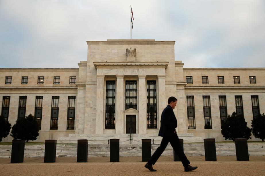 L'édifice de la Réserve fédérale américaine à Washington.... (Photo Kevin Lamarque, archives Reuters)
