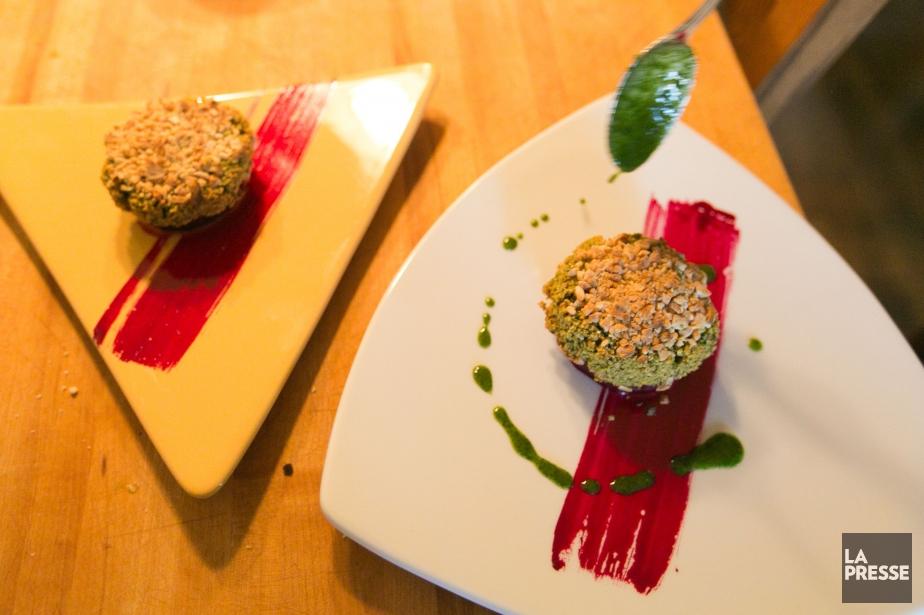 Les beignets de pois chiches sont une variante... (PHOTO FRANÇOIS ROY, LA PRESSE)