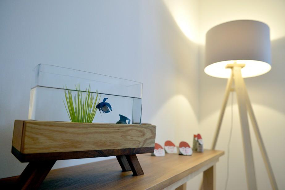 Les meubles et les objets de bois constituent une bonne base quand vient le temps de créer un décor des Fêtes. (Le Soleil, Yan Doublet)
