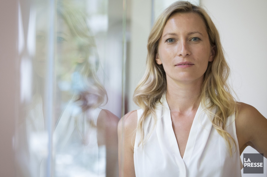 L'actrice Dounia Sichov sur le tournage du film... (PHOTO IVANOH DEMERS, ARCHIVES LA PRESSE)