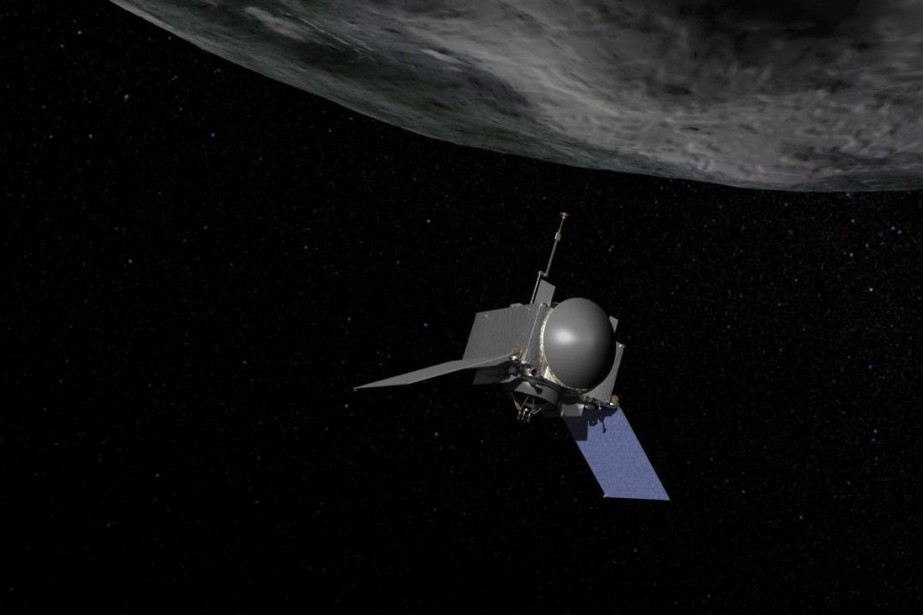 L'engin spatial de la mission OSIRIS-REx.... (PHOTO LA PRESSE CANADIENNE)