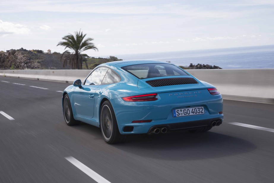 Porsche 911 2017 (Photo Daniel Wollestein pour Porsche AG)
