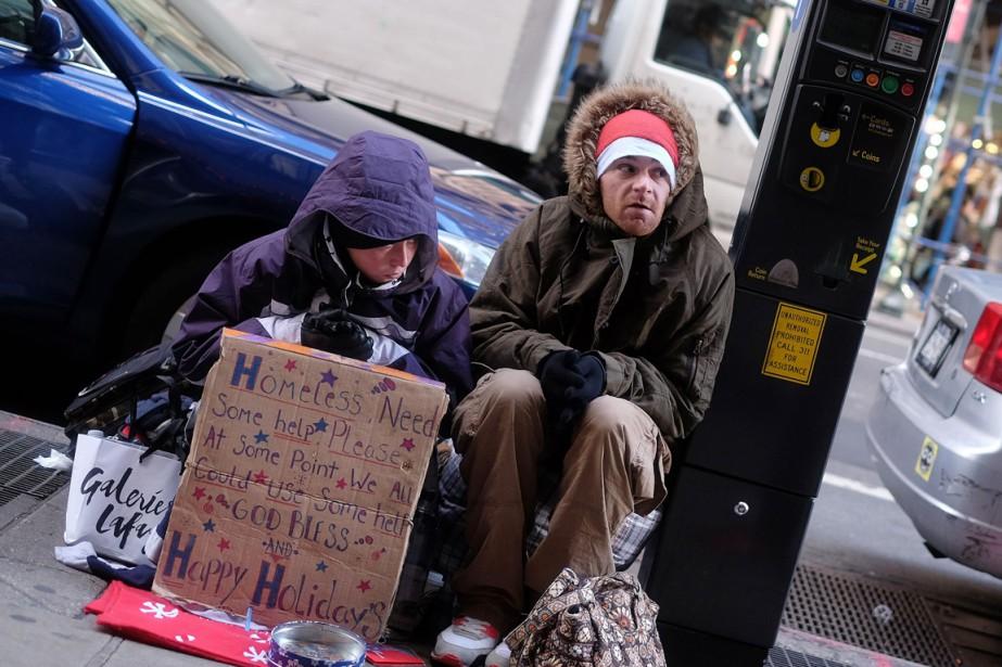 New York, qui compte 8,4 millions d'habitants, concentre... (PHOTO JEWEL SAMAD, AFP)