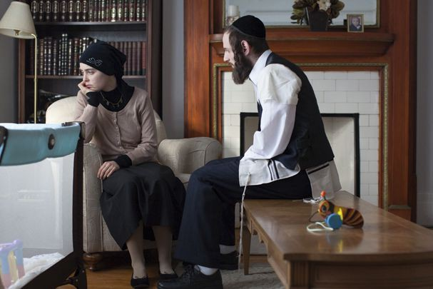 Hadas Yaron et Luzer Twersky dans une scène... (Fournie par FunFilm Distribution)